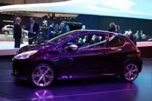 GENEVA 2012 LIVE: Peugeot 208 XY
