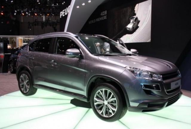 GENEVA 2012 LIVE: Peugeot 4008