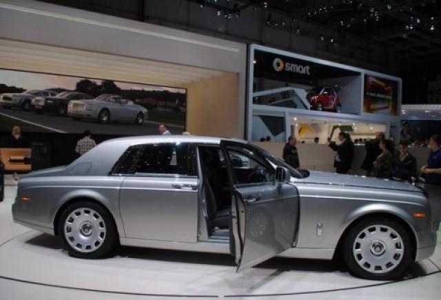 GENEVA 2012 LIVE: Rolls Royce Phantom
