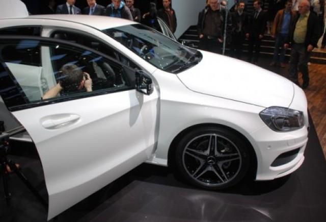 GENEVA 2012 LIVE: Mercedes A Classe