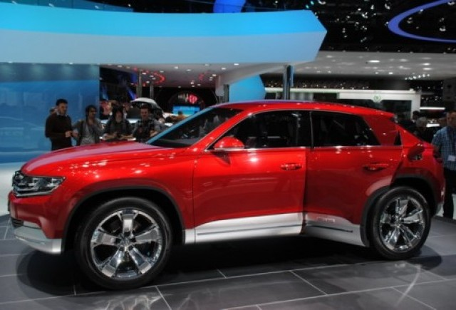 GENEVA 2012 LIVE: VW Cross Coupe