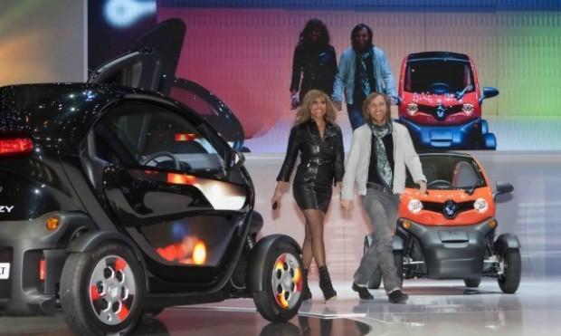 Cathy & David Guetta, Ambasadorii Renault Twizy