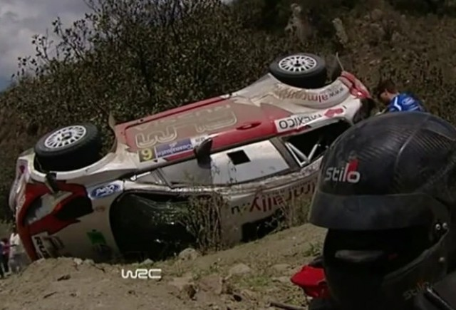 VIDEO: Accident incredibil in cadrul WRC