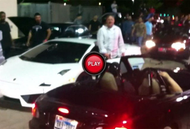 VIDEO: O Mazda MX-5 aproape ca loveste un Lamborghini Gallardo