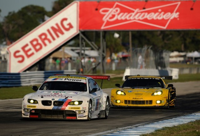 BMW Team RLL, pe podium