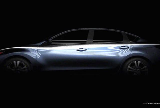 Teaser Nissan Altima 2013