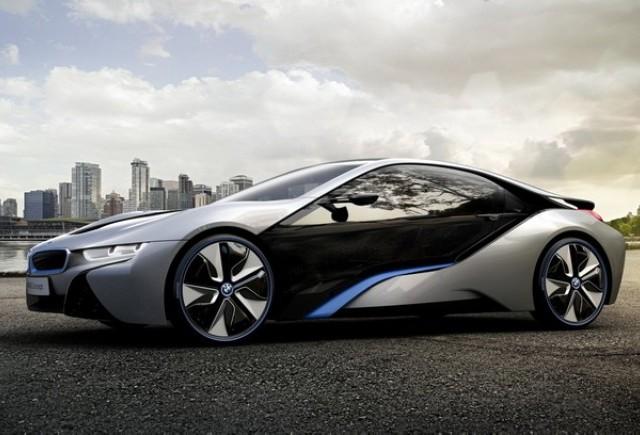 BMW i8 - Un hibrid sportiv cu 393 cai putere