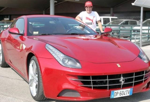 Fernando Alonso a primit un Ferrari FF pentru victoria de la Sepang