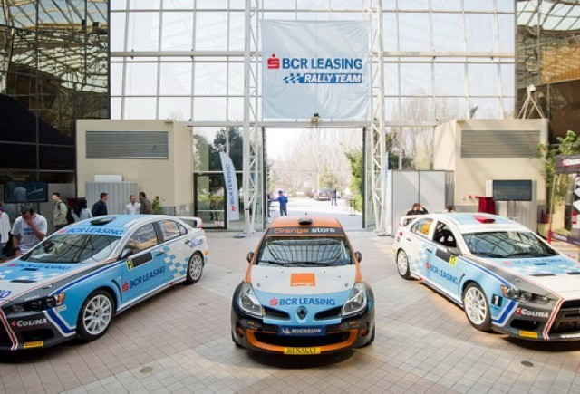 BCR Leasing Rally Team iar startul in CNR 2012