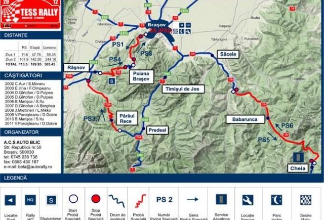 Tess Rally- sezonul competitional debuteaza la Brasov