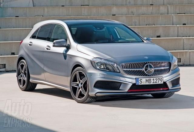 Cei de la Mercedes promoveaza modelul A-Class