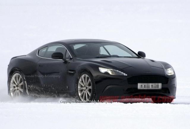 Imagini spion cu succesorul lui Aston Martin DB9