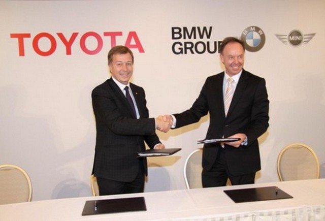 BMW si Toyota, impreuna