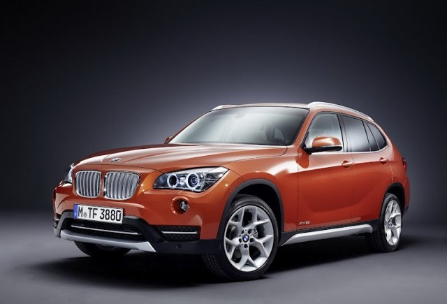 BMW X1 2013 Facelift la New York Motor Show