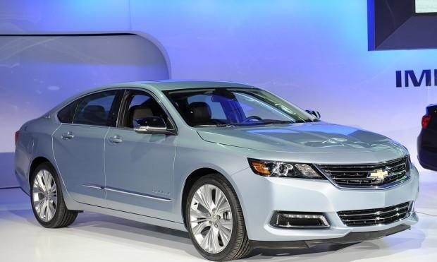 Chevrolet Impala 2014 la New York Motor Show 2012