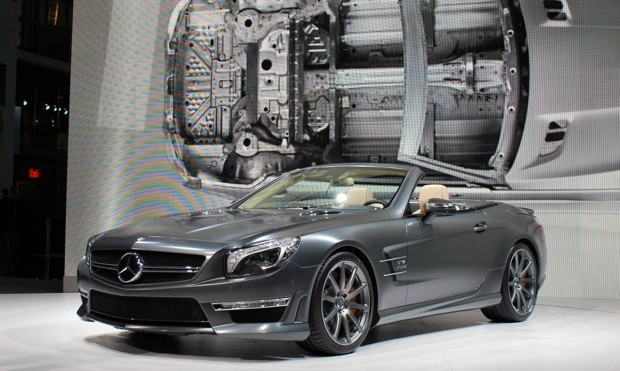 New York Motor Show 2012: Mercedes SL65 AMG 2013