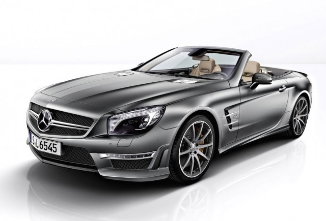 Mercedes lanseaza SL 65 AMG 45th Anniversary (Editie limitata)