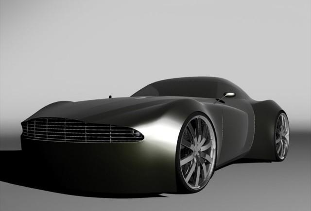 CONCEPT: Aston Martin V8 Vantage