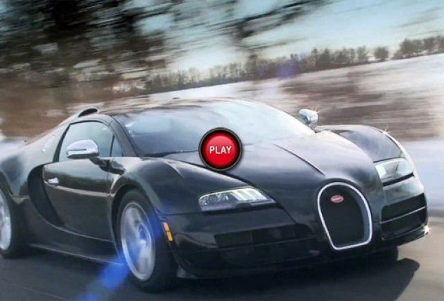 Bugatti Veyron Grand Sport Vitesse in slow motion