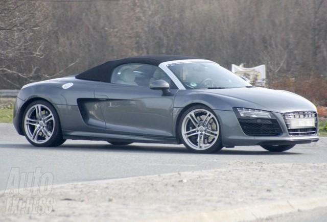 Imagini spion cu Audi R8 Facelift