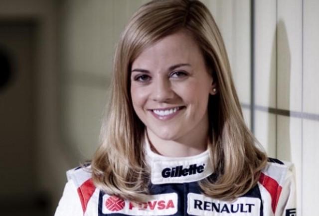 Susie Wolff este noul pilot de teste pentru Williams F1