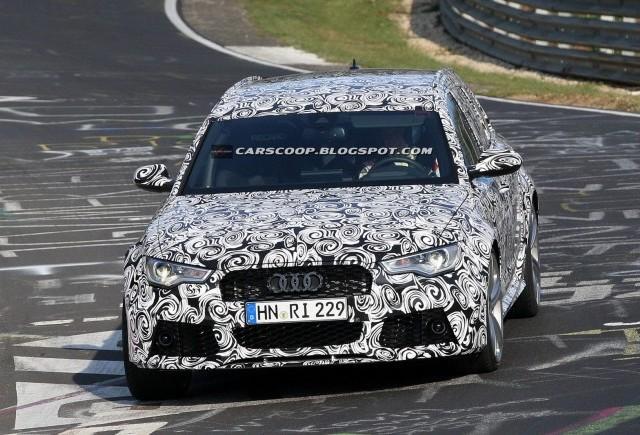 Imagini spion cu Audi RS6 Avant