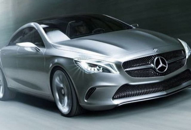 Imagini oficiale cu Mercedes Concept Style Coupe