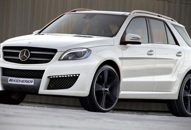 TUNING: Mercedes ML modificat de Kicherer