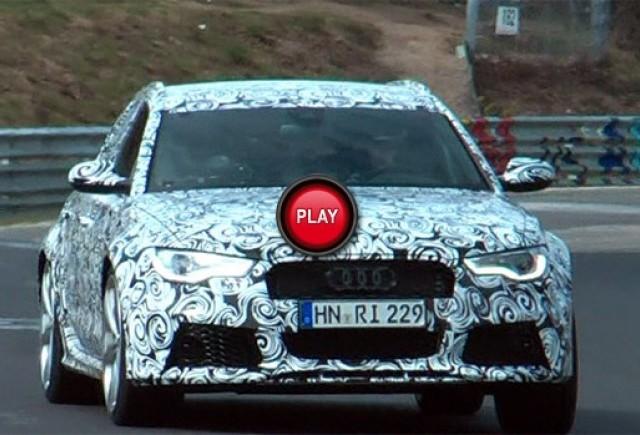 Audi RS6 Avant in actiune