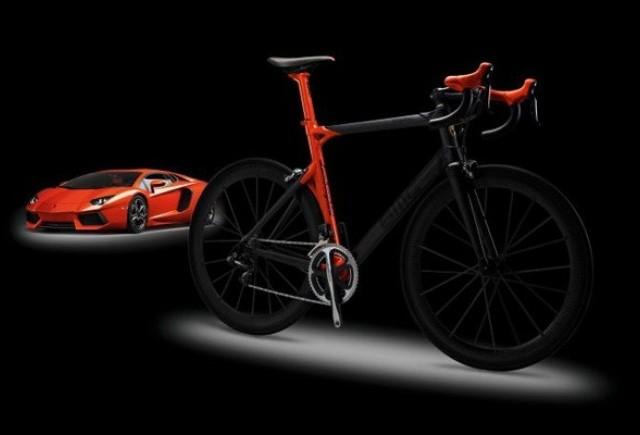 BMC lanseaza o bicicleta produsa in colaborare cu cei de la Lamborghini