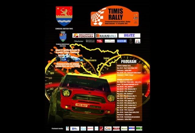 Lupta pe asfalt continua la Timis Rally