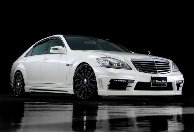 TUNING: Mercedes S-Class si CLS Black Bison