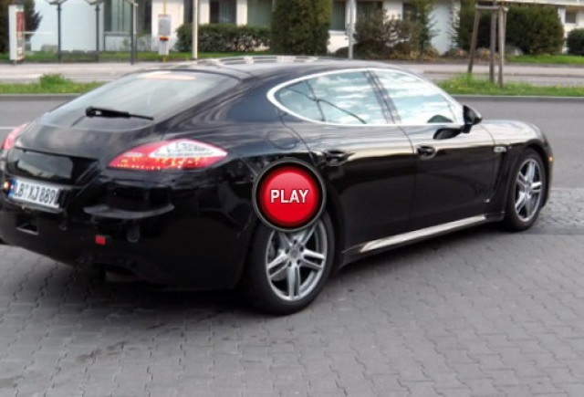 VIDEO: Porsche Panamera Facelift