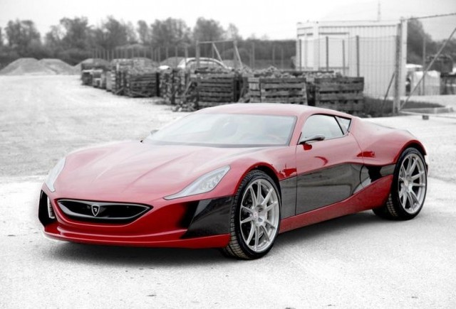 Rimac One - Un supercar electric de 750.000 de euro