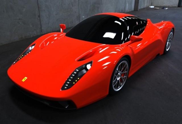 Studiu de design: Ferrari F70