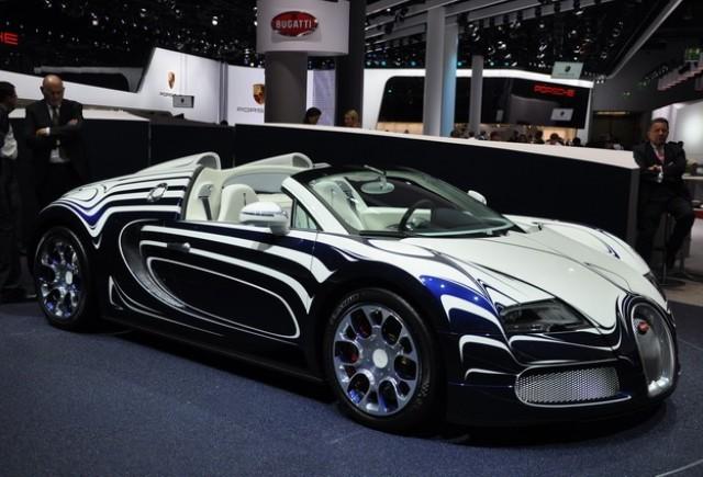 Cum a fost placat cu portelan modelul Bugatti Veyron L'Or Blanc
