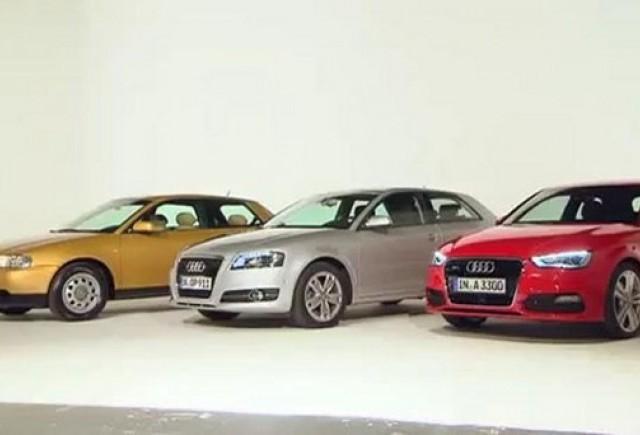 Audi A3 - Evolutia modelului de la prima generatie pana acum