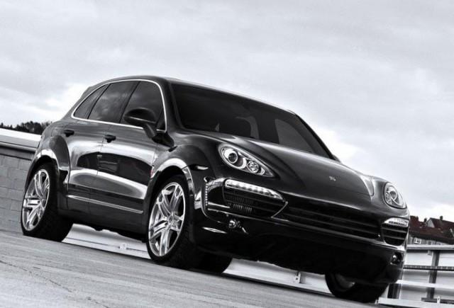 TUNING: Porsche Cayenne Wide Track