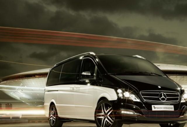 Mercedes-Benz Viano Vision Diamond: autovehiculul comercial cu aspect de limuzină