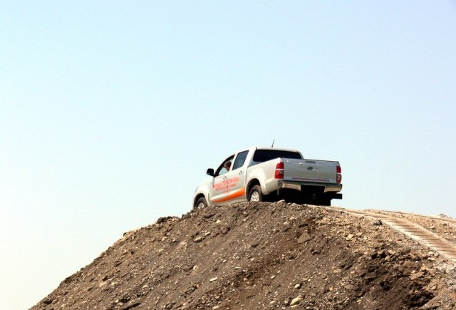 Toyota Bucuresti Nord inaugureaza TOYOTA 4X4 Track