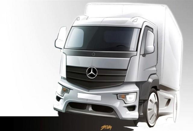 Noul Mercedes-Benz Antos – camionul destinat transportului de mărfuri grele pe distanţe scurte