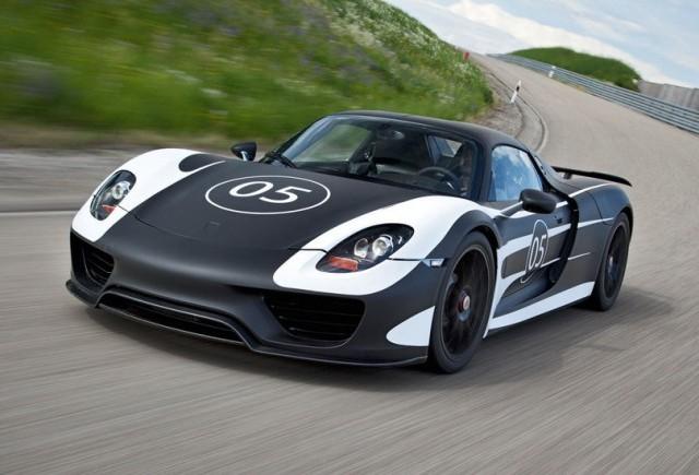 Cei de la Porsche au lansat primul prototip 918 Spyder