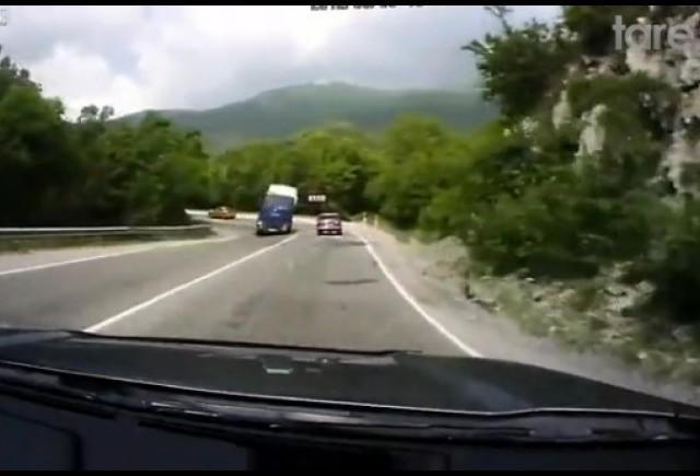 VIDEO: Un tir putea sa provoace un dezastru