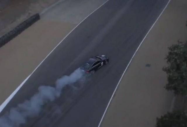 Drifturi cu Mercedes C63 AMG