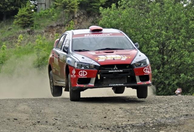 Raliul Moldovei, dominaţia străină revine în CNR Dunlop 2012