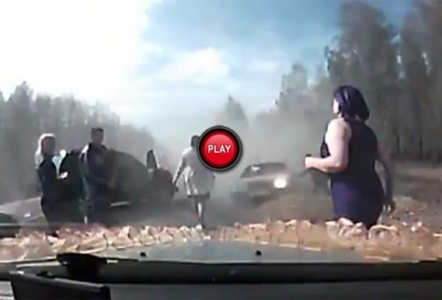 Accident teribil in Rusia