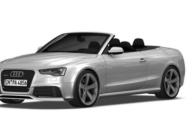 Audi RS5 Cabriolet pentru piata din SUA