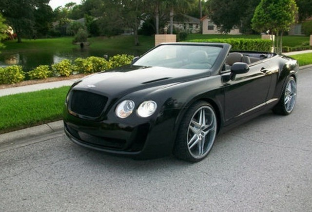 Chrysler Sebring transformat in Bentley Continental GTC