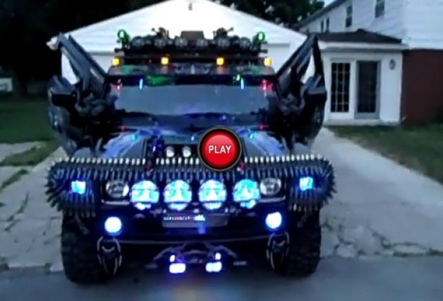 TUNING: Hummer H2 Black Knight