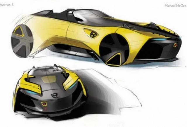 Studiu de design - Honda S2000